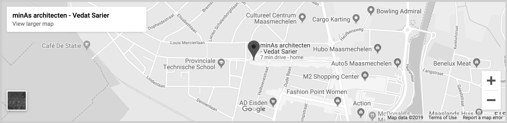 Google Maps minAs